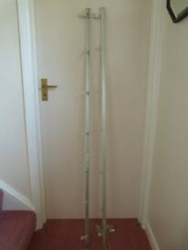 Austrian Blind Rails and fittings 2 x 159cm