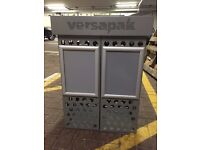 Versapak post bin with letter size guide - Grey colour, metal construction