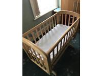 John Lewis Baby swing crib