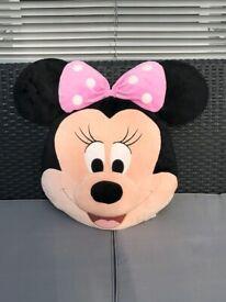 £2.. DISNEY Minnie Mouse cushion