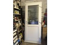 PVC Back Door with frame