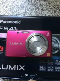 My Panasonic lumix fs41 pink camera