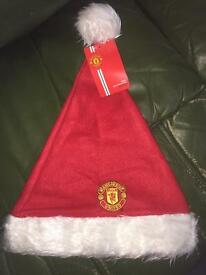 Man U Supporters Christmas Hat NEW!