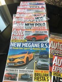 Auto Express Magazine bundle - new - 2018