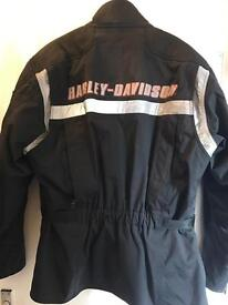 Harley Davidson FXRG riding jacket, hardly used. Size L