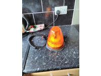 flashing amber recovery beacon