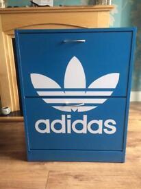Adidas shoe storage unit