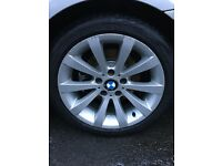 "BMW 18"" Alloys and Tyres"