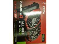 Nvidia GTX 1070 MSI GAMING X