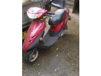 50cc scooter (moped)