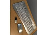 *SOLD* Wireless keyboard and mouse.