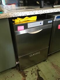 Glass washer Class EQ with 3 glass racks