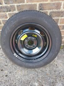 TYRE AND WHEEL LIKE NEW