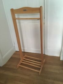 """Children's wooden clothes stand from """"izziwotnot"""""""