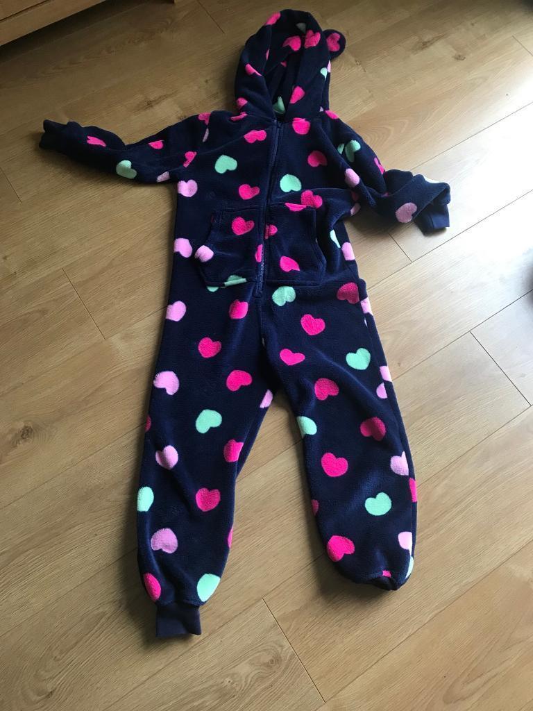 Girls onesie from next age 9 warm winter sleep night