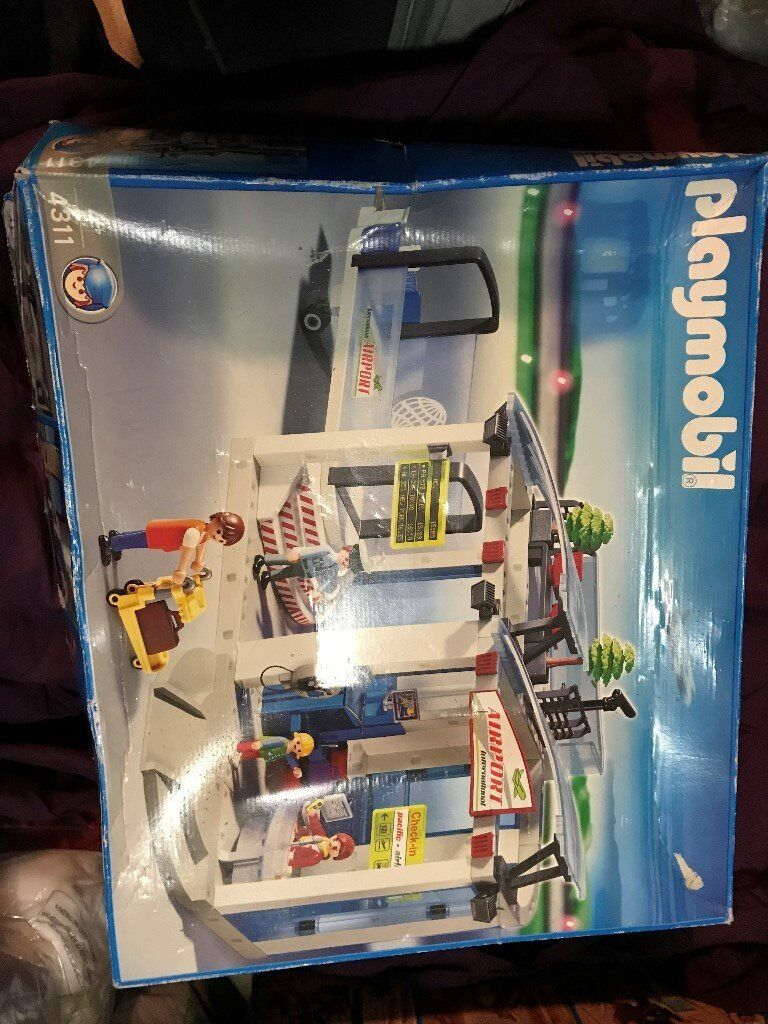 Playmobil Airport Sets - Airplane, Bus and Airport