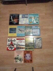 Books, space, engines, boating, WW2 aircraft