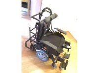 It's a invacare TDX sp2 footy Powerchair 10km/h motors ,seat width and depth 22 inch.