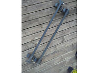 Thule Roof Bars 127cm plus 754 and 1605 adapter kit - Collection only - from Long Ashton BS41 9DR