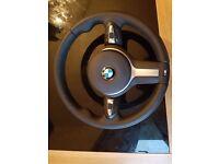 Bmw m sport steering wheel and airbag 1 2 3 4 series f20 21 22 23