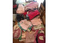Massive bundle of beautiful little girls clothes 12-18/ 18-24 months