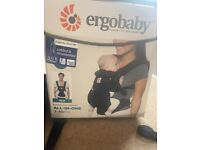 Ergo Baby Carrier and infant insert