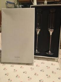 Vera Wang Wedgewood Champagne Flutes
