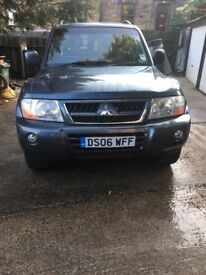 Mitsubhisi shogun 3.2 diesel leather Eleck Seats towbar new tyres drives excellent no faults
