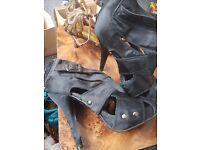 Size 7 high heel sandle/boot