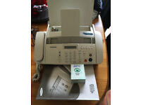 Samsung SF 340 - Fax / copier B/W ink-jet printer phone Excellent condition with new spare cartridge