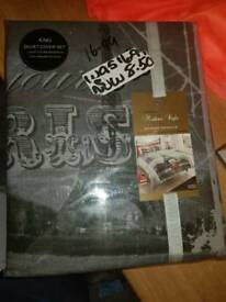Brand new bedding (king size)