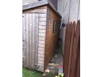 10ft x4ft quality garden shed
