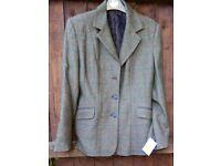 Ladies tweed country/riding Jacket