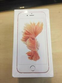 Brand new iphone 6s rose gold new in box unoped