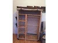 Double Wooden Wardrobe for Great Price!