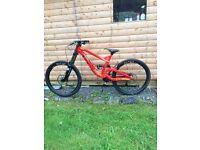 2016 GT Fury elite DH mountain bike