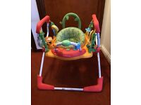Mothercare jumperoo multi coloured