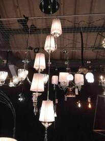5 light cluster pendant