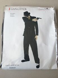 Halloween Gangster Fancy Dress Costume One Size Fits All