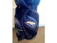 Powakaddy golf bag,large cart bag in excellent condition. All zips good and club linning all ok.