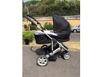 Mama's & Papa's Baby buggy system 'Zoom' with Cybex Aton base