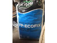 45kg 2.5 bags Carlton rapid set post concrete mix