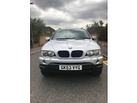 Bmw x5 diesel sport auto with sat nav and leather
