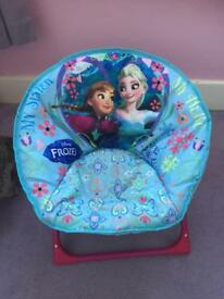 Kids Disney Frozen moon chair