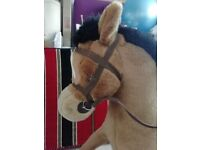 Merrythought Rocking Horse - Vintage Toy