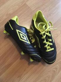Size 2 Umbro football boots