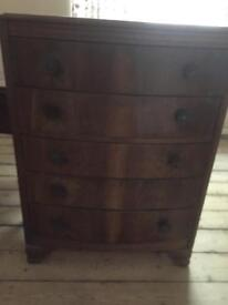 Retro 60's chest of drawers
