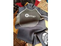 Mens OSPREY OSX - OSX - 38 CHEST Full Length Wetsuit Bodyboarding Surfing Kayaking Sailing Diving