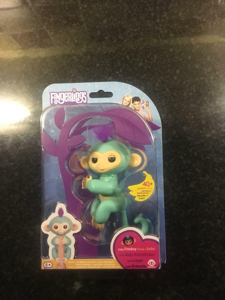 Fingerling interactive toy
