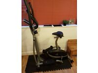 V-Fit 2 In 1 Combo Cycle/X Trainer - MCCT1